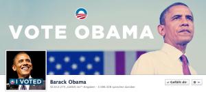 Hat das Team von Barack Obama das Social Timing bei Facebook korrekt umgesetzt?