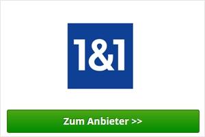1&1 Webhosting Anbieter