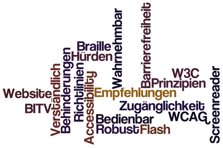 Web Accessibility - Barrierefreiheit im Internet