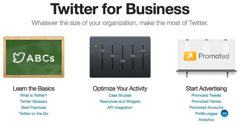 Twitter für Unternehmen