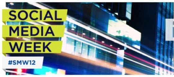 Social Media Week 2012 - Logo