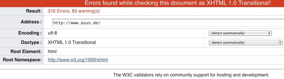 W3C Validator