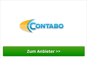 Contabo Webhosting Anbieter