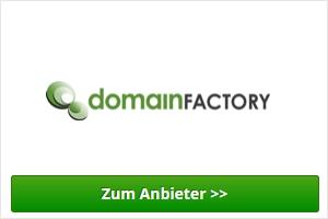 domainFactory Webhosting Anbieter