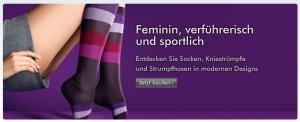 Falke Onlineshop - Ausschnitt des Banners