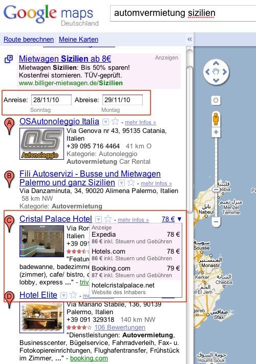 Wird Google zum Reisebüro?