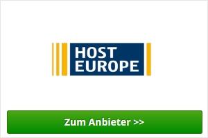 Host Europe Webhosting Anbieter
