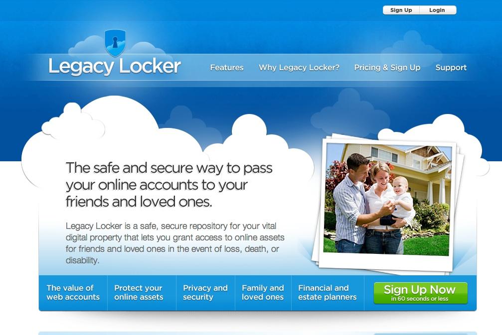 LegacyLocker.com