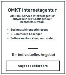Mumme & Partner Internetagentur | Angebot anfordern