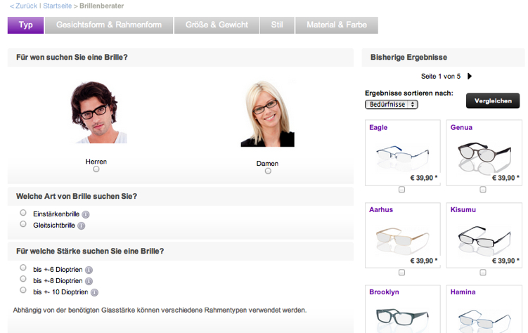 Brillenberater von Brille24.de