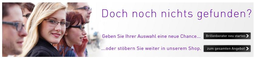 Neue Chance beim Brillenberater von Brille24.de