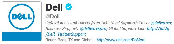 Dell auf Twitter