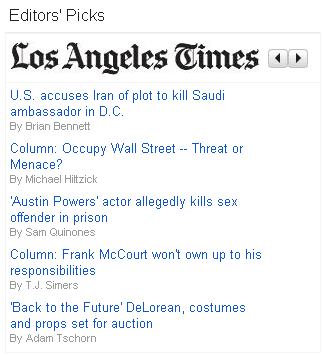 Google News Editors' Pick