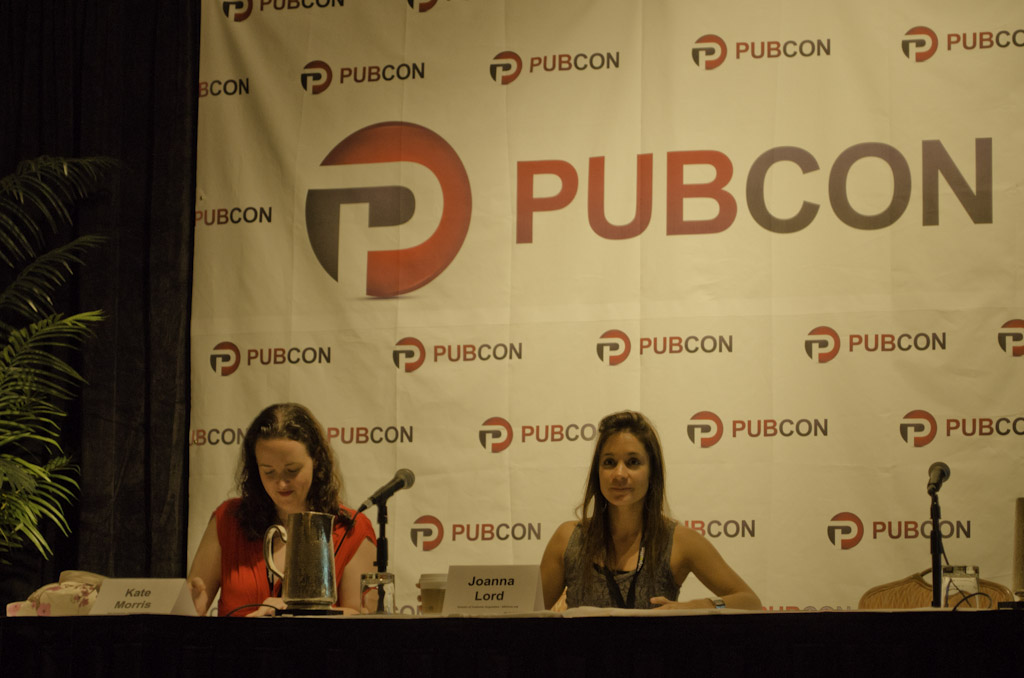 Pubcon Hawaii Speaker: Kate Morris (Distilled) und Joanna Lord (SEOmoz)