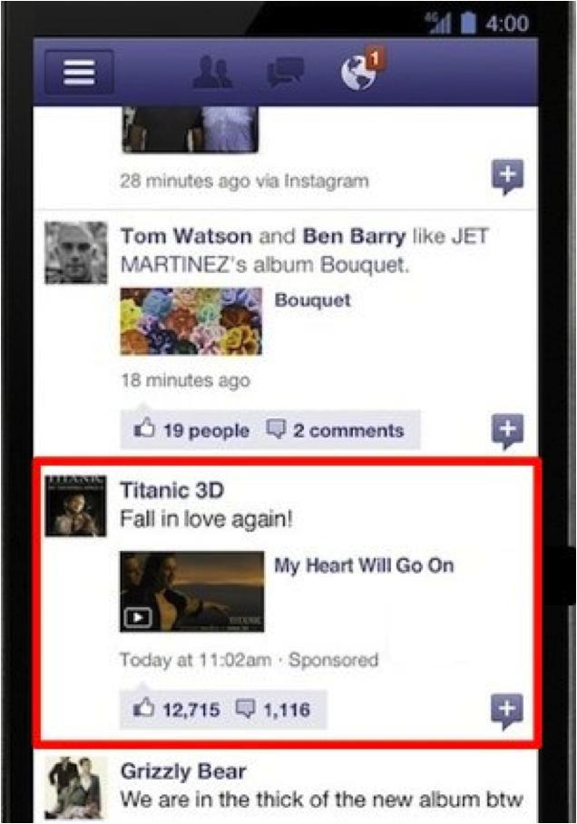 Venture Beat Facebook Ad Format