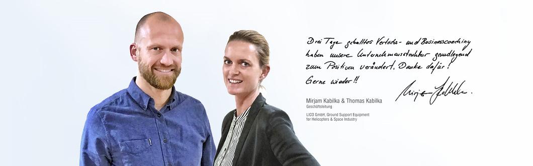 Vertriebscoaching Mumme & Partner Unternehmensberatung für Vertrieb | LICO Stahl GmbH München